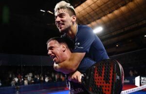 Paquito Navarro y Martín Di Nenno conquistan en Barcelona su primer título juntos