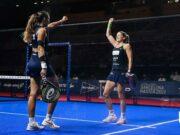 Alejandra Salazar y Gemma Triay ponen la directa a la final del Estrella Damm Barcelona Master 2021