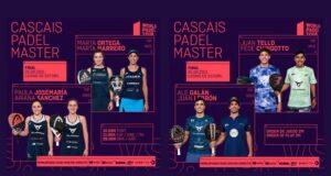 En directo las finales del Cascais Padel Master 2021