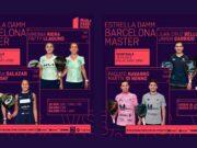 En directo las semifinales del turno de mañana del Estrella Damm Barcelona Master 2021