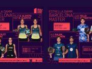 En directo las semifinales del turno de tarde del Estrella Damm Barcelona Master 2021