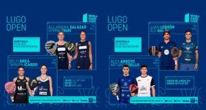 En directo las semifinales del turno de mañana del World Padel Tour Lugo Open 2021