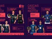 En directo las semifinales del turno de tarde del Cascais Padel Master 2021
