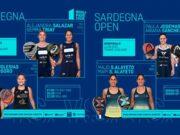 En directo las semifinales femeninas del World Padel Tour Sardegna Open 2021