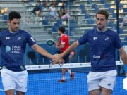 Maxi Sánchez y Lucho Capra protagonistas de los cuartos de final del Cascais Padel Master