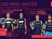 Streaming de los cuartos de final femeninos del Cascais Padel Master 2021