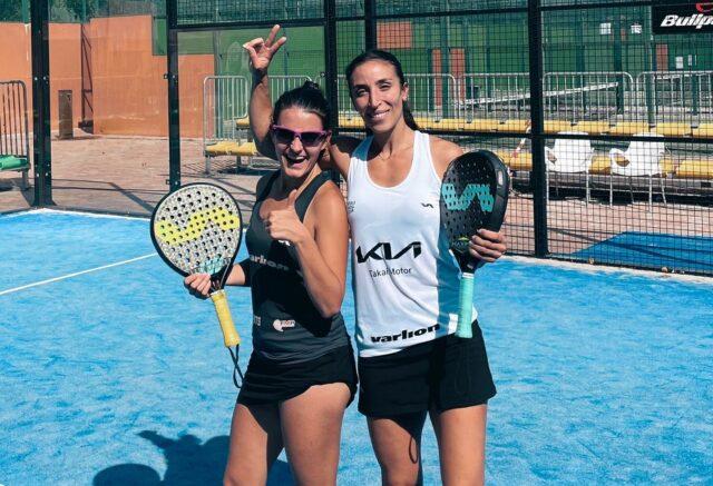 Verónica Virseda y Bárbara Las Heras nueva dupla en el circuito profesional