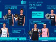 En directo los cuartos de final femeninos del Estrella Damm Menorca Open 2021