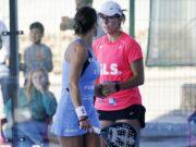 Marta Marrero y Lucía Sainz debutan con buen pie en Menorca