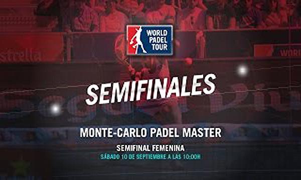 directo semifinales femeninas del Monte-Carlo Padel Master
