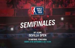 Directo de las semifinales femeninas del Hp Xcam Sevilla Open