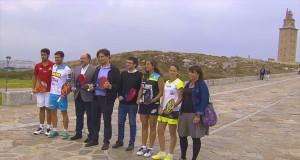 Presentación del Abanca Ciudad de A Coruña Open