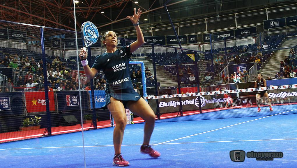 Los tres mejores puntos de pádel femenino en el A Coruña Open