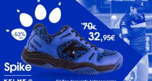Oferta zapatillas Kelme K-Spike Azul