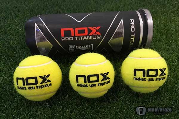 Pelotas de pádel NOX Titanium Pro