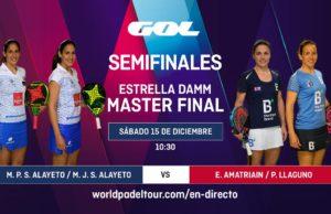En directo la jornada matinal de semifinales del Estrella Damm Master Final 2018