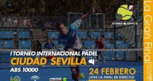 Sigue en directo las finales del I Torneo Internacional de Pádel Ciudad de Sevilla ABS 10.000