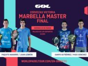 En directo las finales del Cervezas Victoria Marbella Master 2019