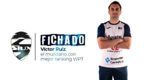 Siux ficha a Víctor Ruiz, el jugador murciano con mejor ranking en el World Padel Tour