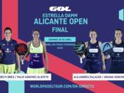 En directo las finales de tarde del Estrella Damm Alicante Open 2019