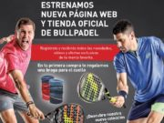 Nace la tienda online oficial de Bullpadel