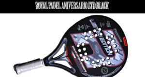 Royal Padel Aniversario LTD Black, análisis detallado de un arma descomunal