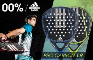 Adidas Pro Carbon 1.9, otra serie adidas pádel espectacular