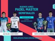 En directo las semifinales del Buenos Aires Padel Master 2019