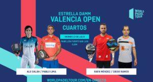 En directo los cuartos de final masculinos del Estrella Damm Valencia Open 2019