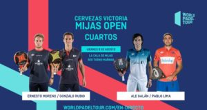 En directo los cuartos de final masculinos del Cervezas Victoria Mijas Open 2019