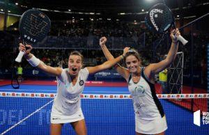 ¡A la tercera va la vencida! Ana Catarina Nogueira y Paula Josemaría logran su primer título en el Estrella Damm Madrid Master