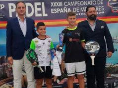 Félix González, jugador del Team Siux Junior, campeón de España