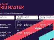 Horarios del streaming del Estrella Damm Madrid Master 2019