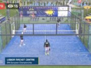 En directo la final masculina por parejas del European Championships