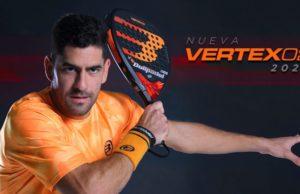 VERTEX 02 2020: la pala del Número 1 Maxi Sánchez