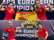 Botello/Ruiz y Navarro/Josemaría se proclaman campeones por parejas del European Championships de Lisboa
