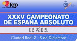 Comienza el Campeonato de España de Pádel Absoluto