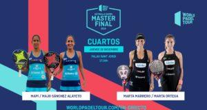 En directo la jornada de tarde del jueves de los cuartos de final del Estrella Damm Master Final 2019