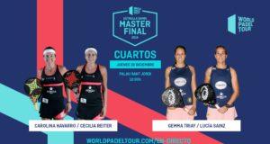 En directo la jornada matinal del jueves de los cuartos de final del Estrella Damm Master Final 2019