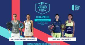 En directo la jornada matinal del viernes de los cuartos de final del Estrella Damm Master Final 2019