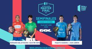 En directo la jornada matinal de semifinales del Estrella Damm Master Final 2019