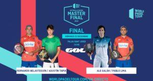 En directo las finales del Estrella Damm Master Final 2019