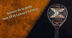 Sorteo de la pala de pádel Nox AT10 Luxury Genius