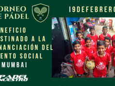 Padel Nuestro colabora con la iniciativa solidaria de Impulse Connection, un evento deportivo en la India