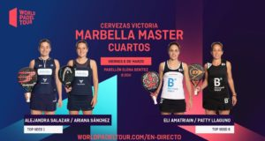 En directo los cuartos de final femeninos del Cervezas Victoria Marbella Master 2020