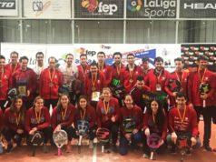 El Real Club de Polo en Femenino y Playa de Somo Central Pádel campeones de España de Pádel por equipos de 1ª