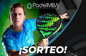 PadelMBA sortea un curso Padel Player Tech y la pala de Paquito Navarro