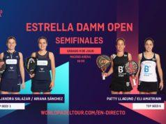 En directo las semifinales del turno de tarde del Estrella Damm Open