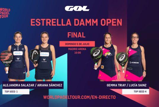 En directo las finales del Estrella Damm Open 2020