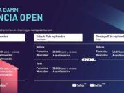 Horarios del streaming del Estrella Damm Valencia Open